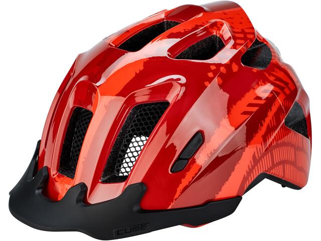 Cube ANT Cykelhjelm Børn, red splash